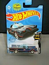 Hot Wheels Tv Series Batmobile Dc #3/5 Batman Black With Red & Blue Design New