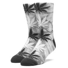 HUF plantlife pot weed Casual Crew Socks OSFM Skate Hella Stoops Worldwide new
