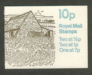 GB 1978 Farm Buildings No2 Northern Ireland Folded Stamp Booklet MNH