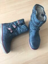 New Ecco Warm Blue Gore-Tex Women's Boots Size UK 3.5 EU 36
