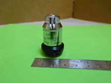 WILD HEERBRUGG SWISS M20 OBJECTIVE PHASE 40X MICROSCOPE PART OPTICS AS IS &88-14