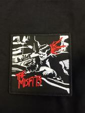 More details for official licensed - misfits - bullet sew-on patch punk horror metal import