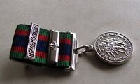 Canadian Volunteer Service Medal Mini Size + Hong Kong + Maple Bar WWII