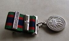 Canadian Volunteer Service Medal Mini Size + Hong Kong + Maple Bar WWII Replica