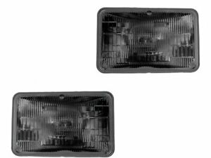 For 1983-1986 Dodge Power Ram 50 Headlight Assembly Set 53514YR 1984 1985