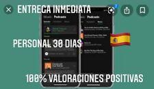 spotify premium 30 días, servidor privado, que no te engañen!! Proveedor español