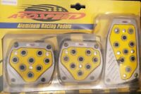 "x20 AROSPEED YELLOW 6MM 1//4/"" HIGH STRENGTH SILICONE VACUUM CAPS PLUGS B"