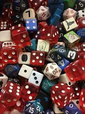 Brands Shapes Designs Mixed Material 1lb Assorted 100 Mystery Dice Vintage/Var