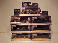 7 pack BATMAN 1966,1995,1989, 2009, 15,17, 18 Batmobile Diecast 1:32 Jada 5 inch