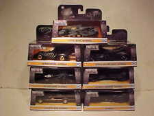 7 pack BATMAN 1966,1995,1989, 2009, 15,17, 18 Batmobile Diecast 1:32 Jada 5 inch