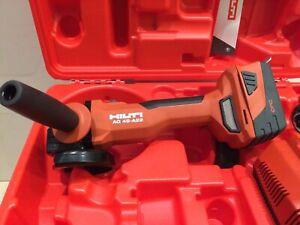 Hilti Akku-Winkelschleifer AG 4S-A22-125 NEU im  Gerätekoffer!!!