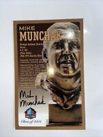 Mike Munchak Autograph Hall Of Fame COA