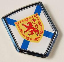 Nova Scotia Canada Flag Car Chrome Emblem Decal Sticker