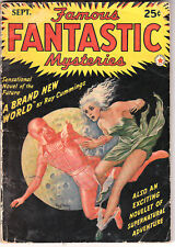 Famous FANTASTIC Mysteries Septembre 1942. Pulps. SF