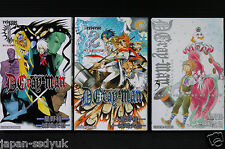 JAPAN novel: D.Gray-man vol.1~3 Complete set