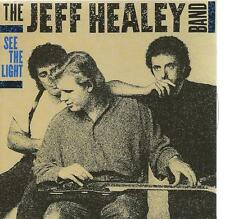 BLUES CD album JEFF HEALEY -  SEE THE LIGHT guitar blues