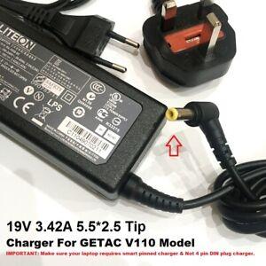 19V 3.42A Power Adapter/ Charger for Getac V110 Model, 5.5*2.5