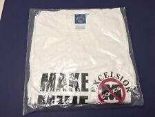 VTG Make Mine ANTI MARVEL Comic Book T-Shirt Exclesior STAN LEE NEW DEADSTOCK
