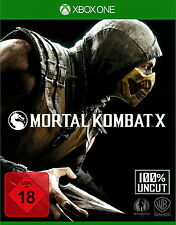 Mortal Kombat X (Microsoft Xbox One, 2015) NEU OVP