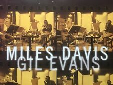 Miles Davis And Gil Evans The Complete Recordings Rare Promo Poster 1996