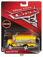 Disney Pixar Cars 3 Oversized Deluxe Die-Cast Vehicle - Miss Fritter