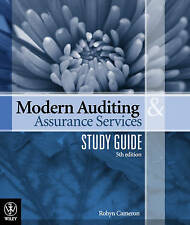 NEW - Modern Auditing & Assurance Services STUDY GUIDE - 5e (Wiley) - Leung etc