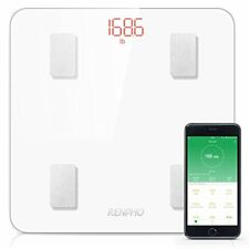 RENPHO Bluetooth Body Fat Scale with IOS and Android APP Smart Digital Bathroom