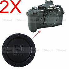 2x Camera Body Cover Cap for Panasonic LUMIX GH2 GH3 GH4, GX1 GX7 GX8, GM1 GM5