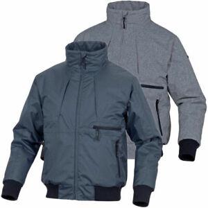 Mens Padded Outdoor Bomber Jacket Rain Coat Warm Multi Pockets Casual Walking