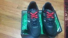 Tommy Hilfiger Newman 2 Men's Sneakers Black Multi Suede SIZE 11.5