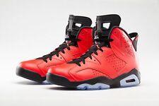 2014 Nike Air Jordan 6 VI Retro Infrared 23 Size 8. 384664-623 1 2 3 4 5