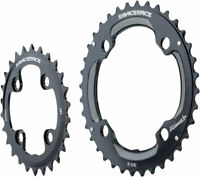 RaceFace Turbine 11-Speed Chainring: 64/104mm BCD 26/36t Black