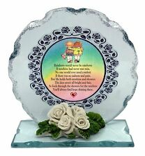 Friend Poem Cut Glass Plaque Rainbow Message of Hope Cellini Booth