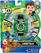 BEN 10 Basic OMNITRIX WATCH with 40+ Alien Phrases & Sound Effects