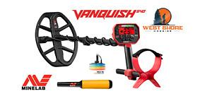 Minelab Vanquish 540 Metal Detector - FREE ProFind 20 Pinpointer (a $99 value!)