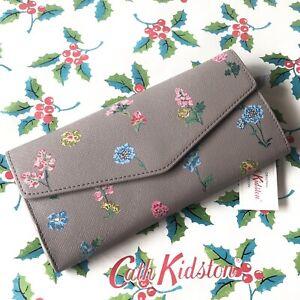 CATH KIDSTON Large Envelope Floral Purse BNWT Kitson Kidson
