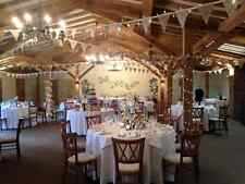 HESSIAN & LACE BUNTING 100ft  RUSTIC SHABBY CHIC `~~~BARGAIN~~~~limited numbers