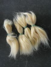 MOHAIR for rooting- REBORN Doll making supplies 20g  (0.7 oz) pale blond