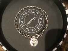 Thomas Sabo Silver & Diamond Ten Year Charm Club Bracelet