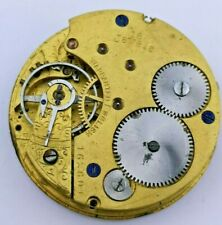 Quality H Williamson 16 Jewels Pocket Watch Movement for Repair or Parts (M84)