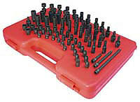 "Sunex Tools 1874 74 Piece 1/4"" Drive Master Sae And Metric Socket Set"