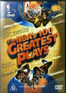 The NBA's 100 Greatest Plays : NEW DVD * FREE EXPRESS POST *