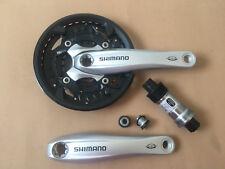 Shimano Alu manivela fc-m523 3x10-f octalink 175 mm 40/30/22 plata rodamiento OVP