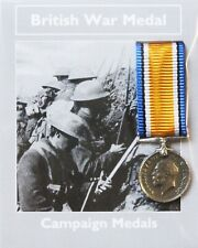 REPRODUCTION British War Medal 1914 1919 Miniature WW1 Medal 18mm *[CMBWM]