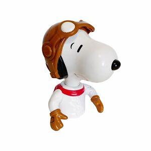 "Snoopy Pilot Red Baron Peanuts McDonald's 5"" Toy Figure"