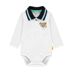 STEIFF® Baby Jungen Polobody Body Langarm 56-86 F/S 2021 NEU!