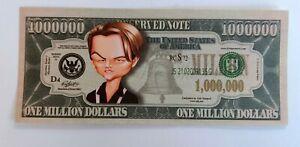 USA US 1 Million Dollar Bill Banknote Celebrity  Gospel  1/34