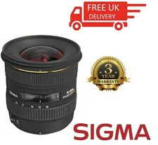 Sigma 10-20mm F4-5.6 EX HSM DC Lens For Olympus (Four Thirds) 201107 (UK Stock)