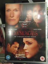 DAMAGES SECOND SEASON - 3 DISC DVD - MINT - HINDI SUBTITLES - REGION 2