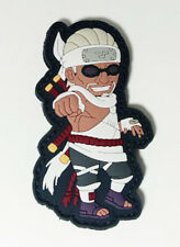 "Naruto Shippuden Killer Bee B PVC Removable Hook & Loop 3.25"" Patch YAPP0006 USA"